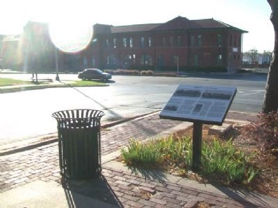 Dodge City, a railroad town Marker image. Click for full size.