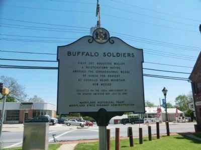 """Buffalo Soldiers"" Marker image. Click for full size."
