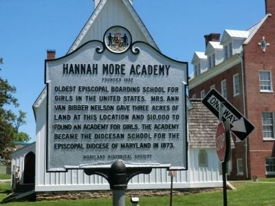 Hannah More Academy Marker image. Click for full size.