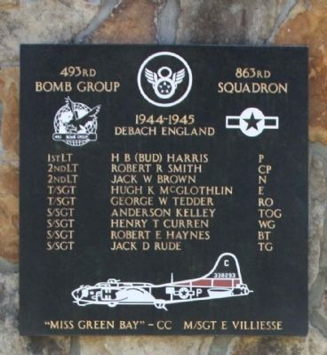 493rd Bomb Group 863rd Squadron image. Click for full size.