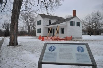 We Will Accomplish Wonders Marker and Stanton House image. Click for full size.