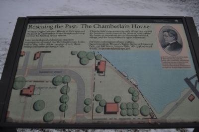The Chamberlain House Marker image. Click for full size.