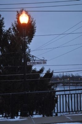 Bedford Falls Blvd. SIgn and Lamp Post image. Click for full size.