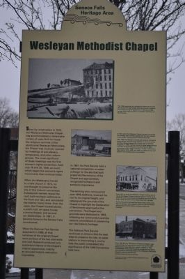Wesleyan Methodist Chapel Marker image. Click for full size.