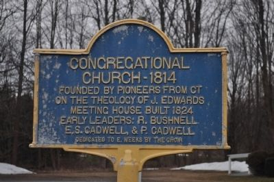 Congregational Church - 1814 Marker image. Click for full size.