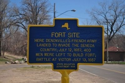 Fort Site Marker image. Click for full size.