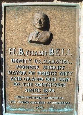 H.B. (Ham) Bell Marker image. Click for full size.