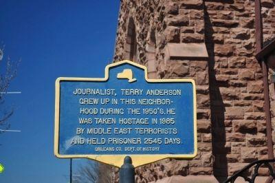 Journalist, Terry Anderson Marker image. Click for full size.