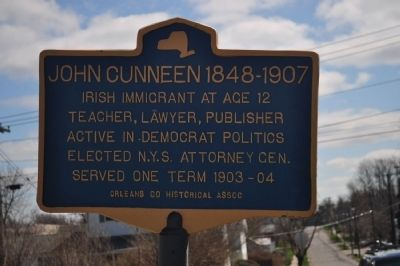 John Cunneen 1848-1907 Marker image. Click for full size.