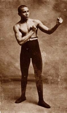 "Joseph ""Joe"" Gans, Lightweight Champion of the World image. Click for full size."