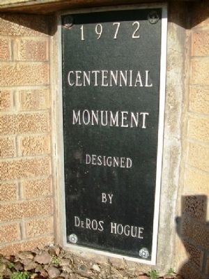 Centennial Monument Marker image. Click for full size.