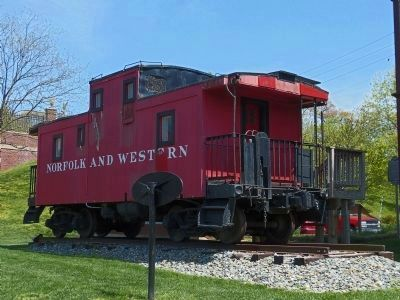 The Bowie Caboose image. Click for full size.