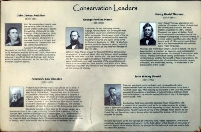 Conservation Leaders Marker image. Click for full size.
