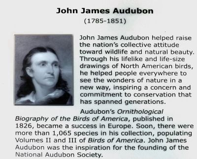 John James Audubon<br>(1785-1851) image. Click for full size.