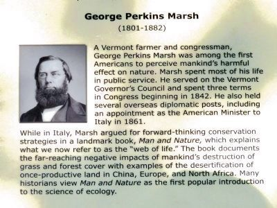 George Perkins Marsh<br> (1801-1882) image. Click for full size.