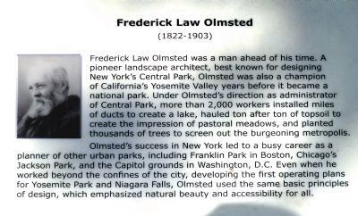 Frederick Law Olmsted <br>(1822-1903) image. Click for full size.