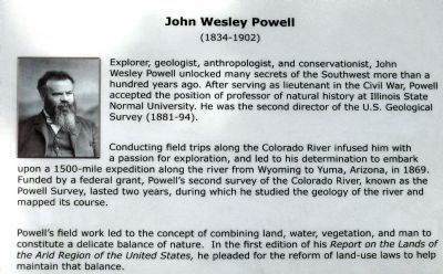 John Wesley Powell<br> (1834-1902) image. Click for full size.
