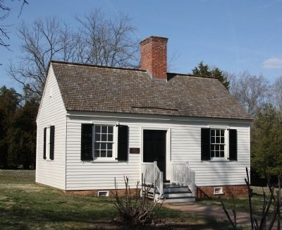 Patrick Henry's Law Office at Red Hill image. Click for full size.