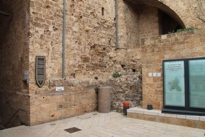 The Crusader Fortress of the Knights of the Hospital and the Ottoman-Turkish Citadel of Akko Marker image. Click for full size.