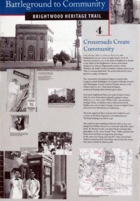 Crossroads Create Community Marker image. Click for full size.