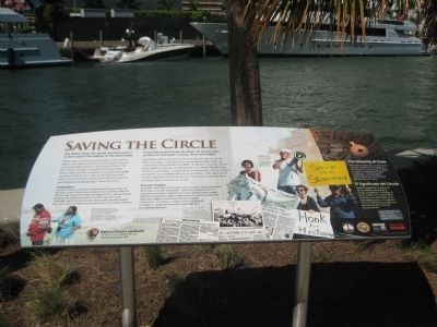 Saving the Circle Marker image. Click for full size.