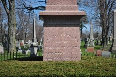 Millard Filmore Monument Inscription (Side 2) image. Click for full size.
