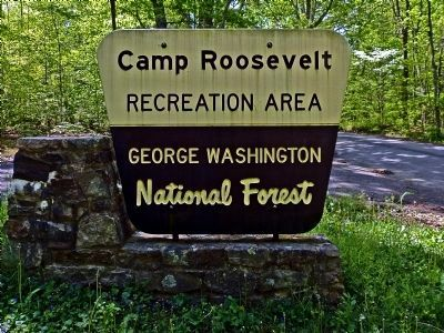 Camp Roosevelt Recreation Area<br>George Washington National Forest image. Click for full size.
