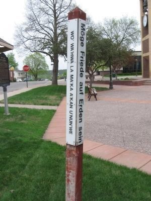 Peace Pole image. Click for full size.