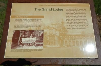The Grand Lodge Marker image. Click for full size.