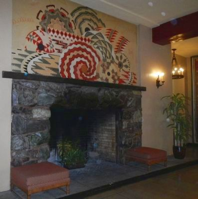 A fireplace in the Ahwahnee image. Click for full size.