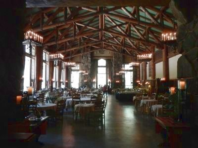 Dining room at the Ahwahnee image. Click for full size.