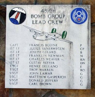 489th Bomb Group Lead Crew image. Click for full size.