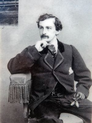 John Wilkes Booth image. Click for full size.