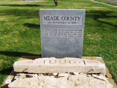 Meade County Marker image. Click for full size.