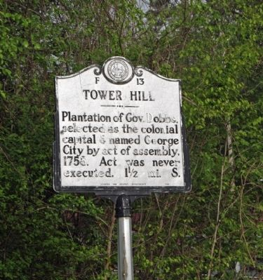 Tower Hill Marker image. Click for full size.