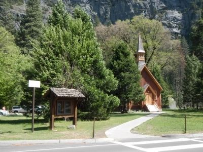 The Yosemite Chapel image. Click for full size.