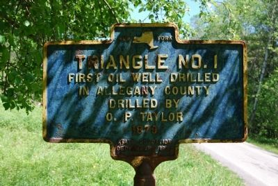 Triangle No. 1 Marker image. Click for full size.