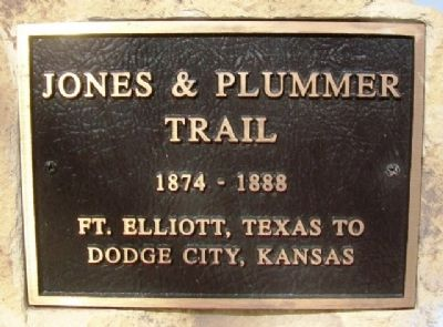 Jones & Plummer Trail Marker image. Click for full size.