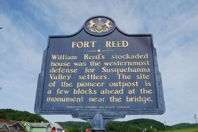 Fort Reed Marker image. Click for full size.
