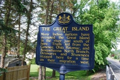 The Great Island Marker image. Click for full size.