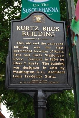 Kurtz Brothers Building Marker image. Click for full size.