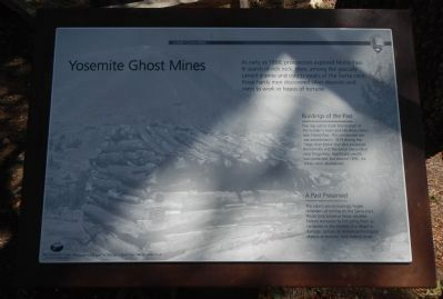 Yosemite Ghost Mines Marker image. Click for full size.