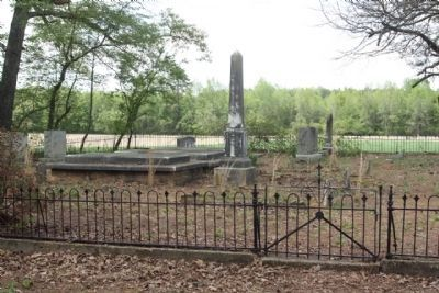 Aycock family cemetery image. Click for full size.