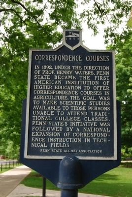 Correspondence Courses Marker image. Click for full size.
