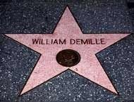 William C. DeMille Star on Hollywood's Walk of Fame image. Click for full size.