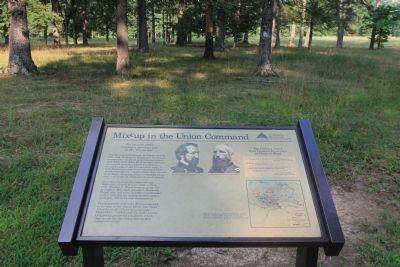Mix-up in the Union Command Marker image. Click for full size.