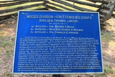Woods Division Marker image. Click for full size.