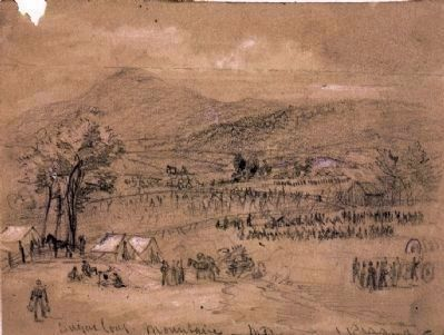 Sugarloaf Mountain Maryland<br>September 1862 image. Click for full size.