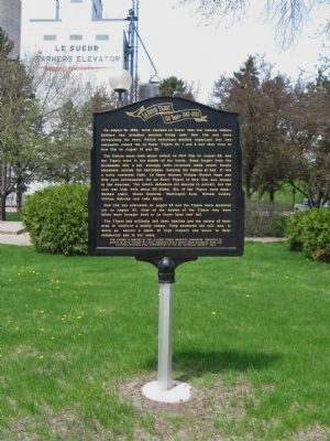 Le Sueur Tigers Marker image. Click for full size.