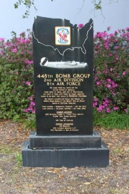 448th Bomb Group Marker image. Click for full size.